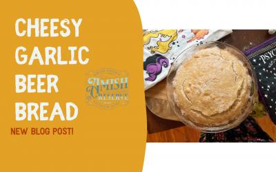 Cheesy Garlic Beer Bread Recipe